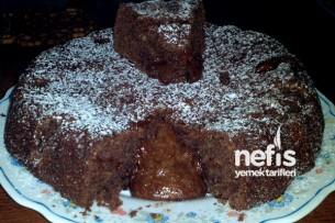 Tam Buğday Unlu Bitter Çikolatalı Islak Kek 1