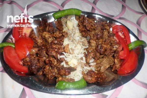 Tavuk Ciğeri Kebabı Tarifi