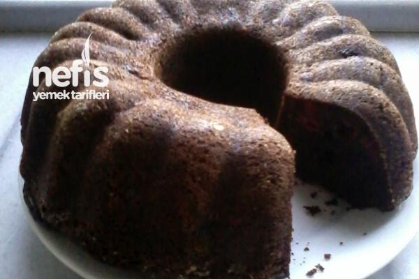 Vişneli Çikolatalı Kahveli Kek 1