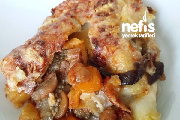 Yufkalı Patlıcan Kebabı Tarifi