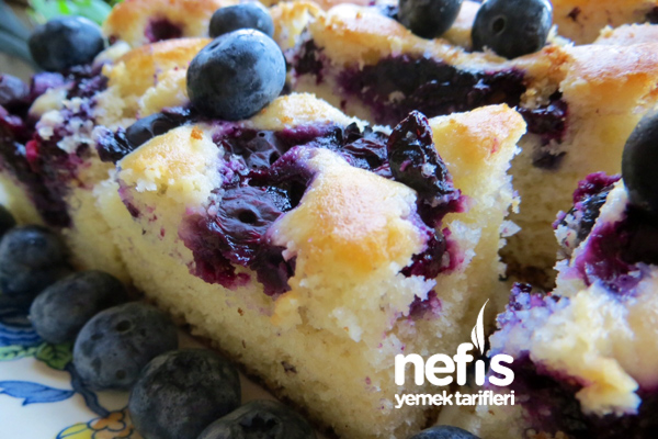 Çekoslovakya Mutfağından Meyveli Kek (Bublanina)