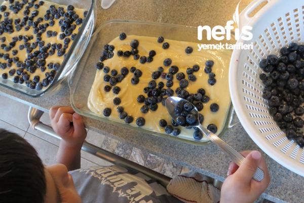 Çekoslovakya Mutfağından Meyveli Kek (Bublanina) 3
