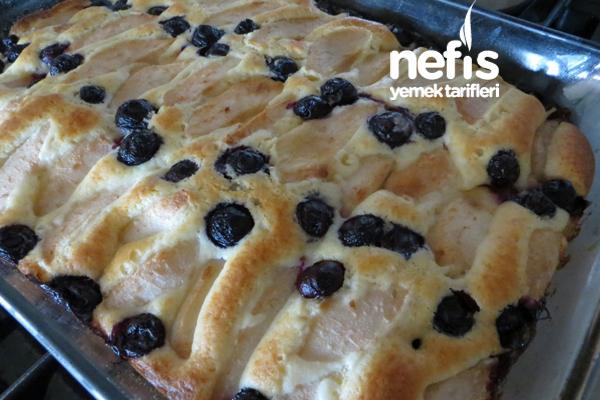 Çekoslovakya Mutfağından Meyveli Kek (Bublanina) 6