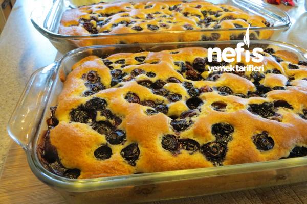 Çekoslovakya Mutfağından Meyveli Kek (Bublanina) 7