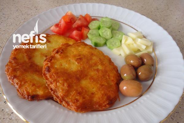 Çocuklara Patates Mücver Tarifi