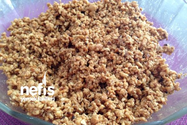 Ebruli Kurabiyesi (pişirmeden) 2