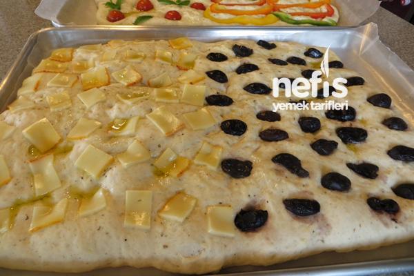 İtalyan Mutfağından Fokaça Ekmeği (Focaccia Bread) 6