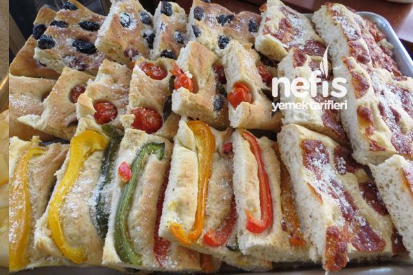 İtalyan Mutfağından Fokaça Ekmeği (Focaccia Bread) 7