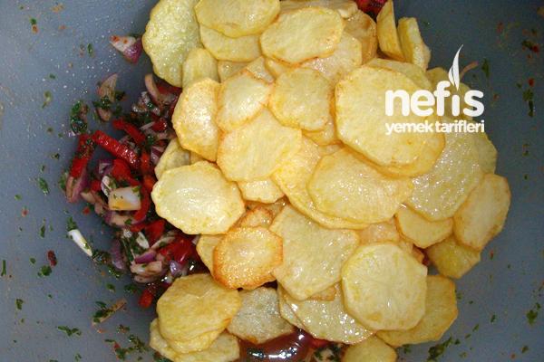 Kızarmış Patates Salatası 2