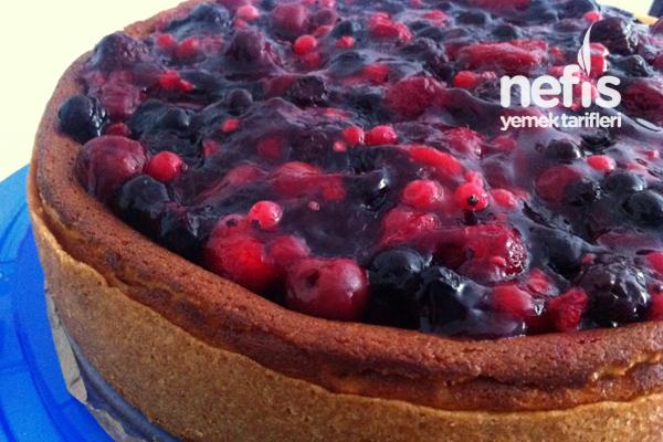 Orman Meyveli Cheesecake (käsekuchen) Tarifi