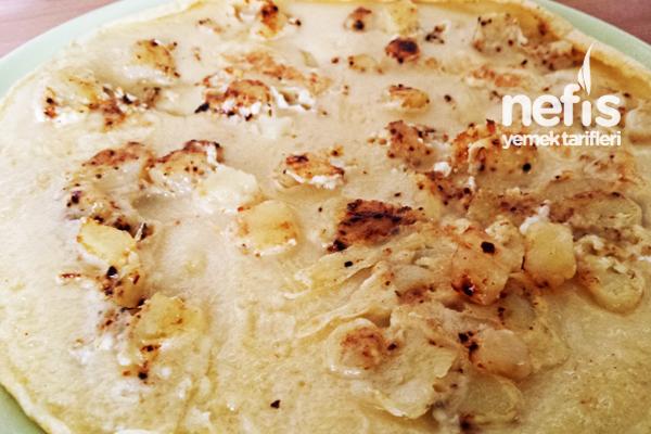 Patatesli Peynirli Krep Tarifi