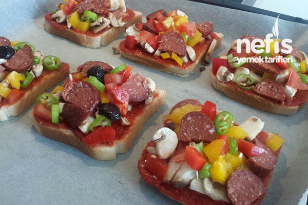 Pratik Şipşak Tost Pizzası 3