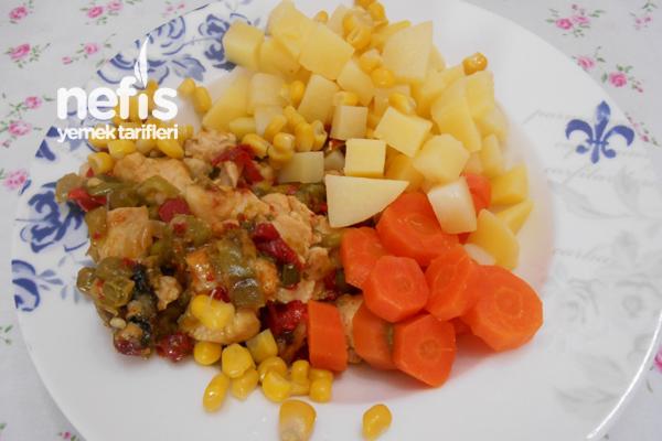 Sebzeli Tavuk Göğsü Yemeği Tarifi