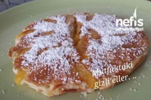 Şeftalili ve Cevizli Pancake Tarifi