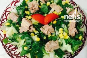 Ton Balıklı Yeşil Salata 5