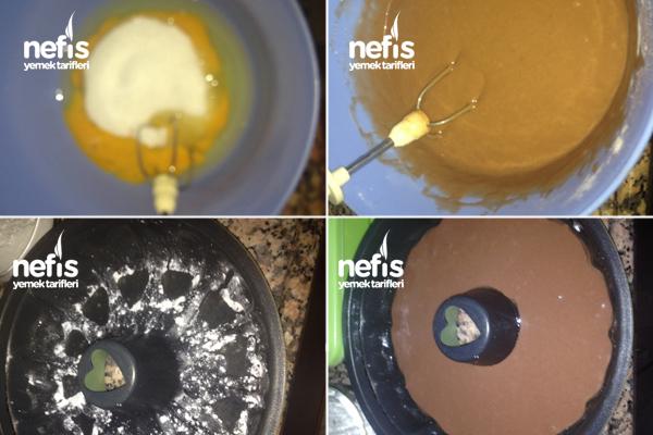 Az Yumurtalı Çok Kabaran Kek 2