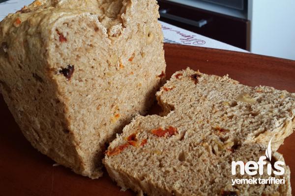 Ekmek Makinasında Akdeniz Ekmeği 3