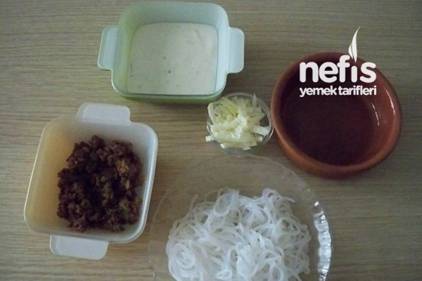 Fırın Makarna (Shıratakı Noodles'dan) 1