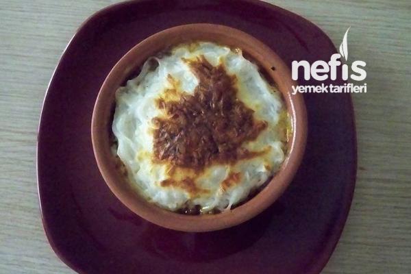 Fırın Makarna (Shıratakı Noodles'dan) Tarifi