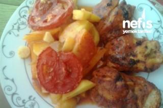 Fırında Tavuk ve Sebze Tarifi
