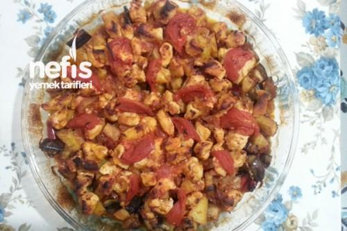 Tavuklu Patlıcanlı Yemekler Fırında Tavuklu Patlıcan