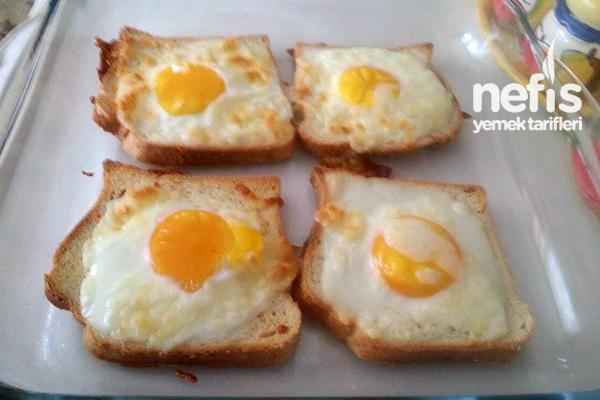 Fırında Kahvaltılık Yumurtalı Ekmek 58