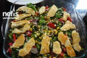 Hellim Peynirli Roka Salatası Tarifi 2
