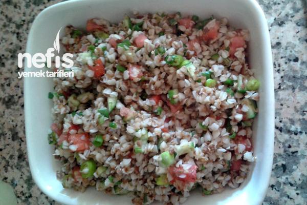 Karabuğday Salatası 1