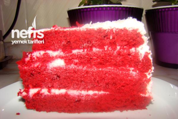 Kırmızı Kadife Kek ( Red Velvet Cake ) 3