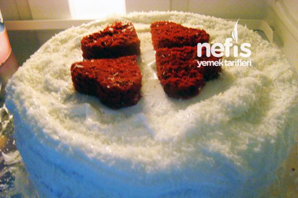 Kırmızı Kadife Kek ( Red Velvet Cake ) Tarifi