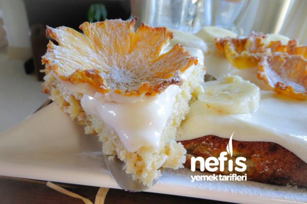 Muzlu Ananas Pastası