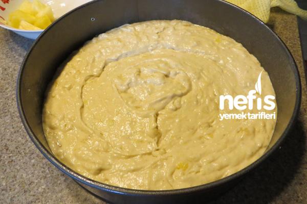 Muzlu Ananas Pastası 4