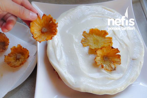 Muzlu Ananas Pastası 6