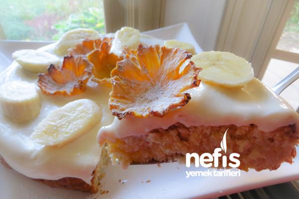 Muzlu Ananas Pastası 9