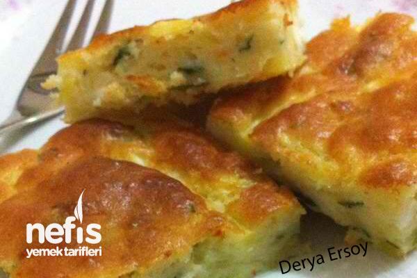 Patatesli Peynirli Kek Tarifi