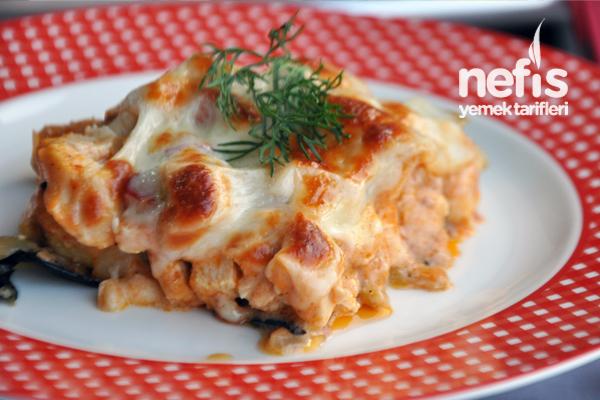 Patlıcan Lazanya Tarifi