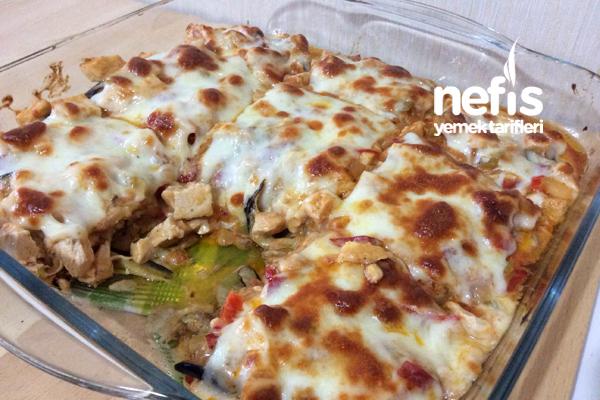 Patlıcan Lazanya Tarifi 4