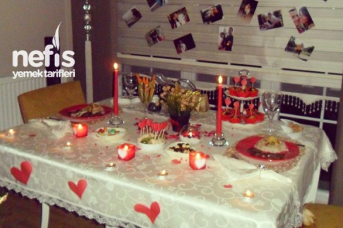 Sürpriz Aşk Yemeği Menüsü Tarifi