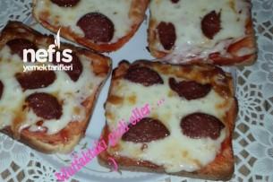 Tembel Kadın Pizzası Tarifi