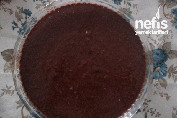 Vişneli Çikolatalı Brownie Tarifi 1