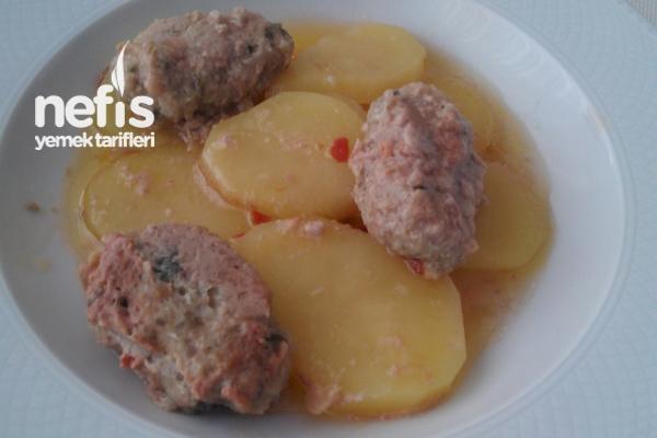 Bebeğinize Besleyici Patatesli Köfte Yemeği Tarifi