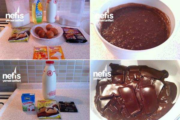 Çikolata Soslu Kunta Kinte Kek