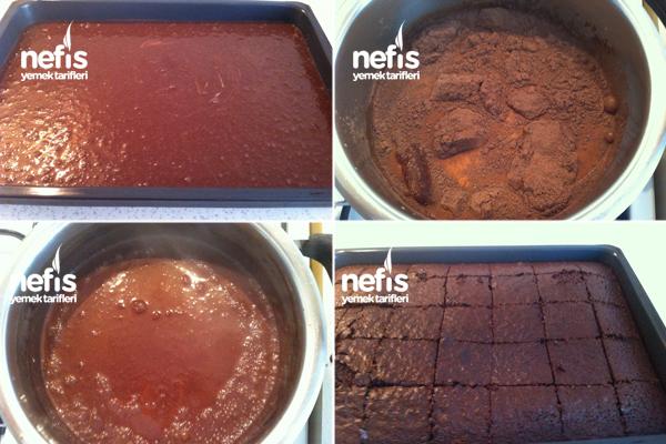 Çikolata Soslu Kunta Kinte Kek 2