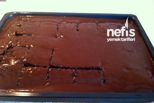 Çikolata Soslu Kunta Kinte Kek 3