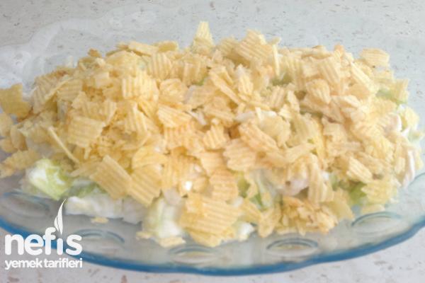 Cipsli Tavuklu Salata Tarifi