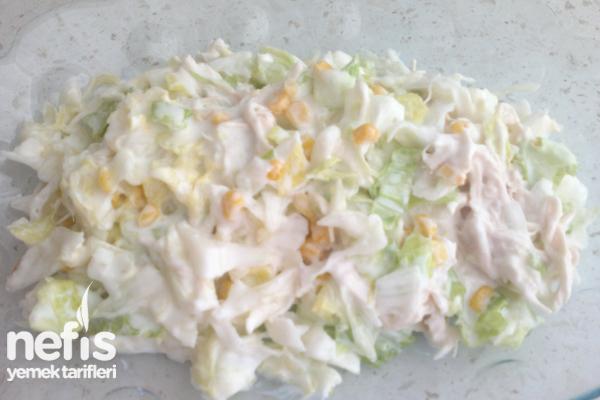 Cipsli Tavuklu Salata