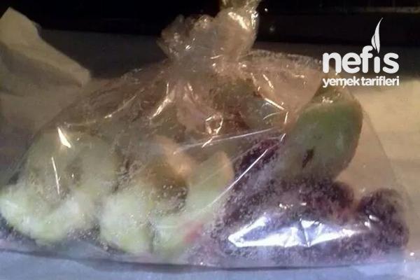 Fırında Vişneli Elma Tatlısı (Diyabetliler İçin Uygun) 3