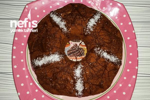 İçi Dolgu Çikolatalı Kek Tarifi