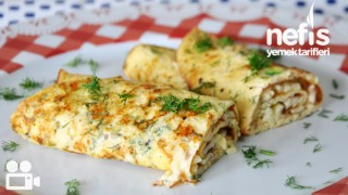 İki Peynirli Omlet Tarifi