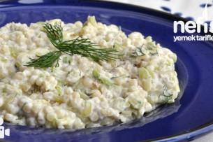 Kabaklı Kuskus Salatası Tarifi